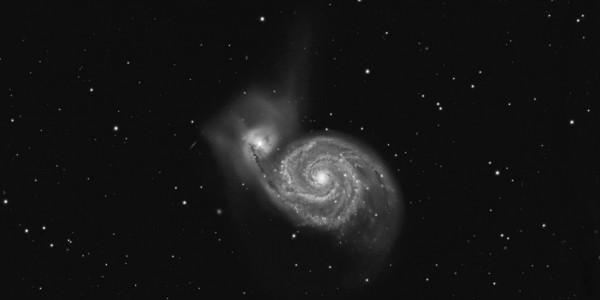 M 51, Whirlpool Galaxy