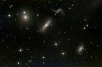 Arp 316, (NGC 3193, 3187, 3189) and NGC 3185