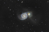 M 51, The Whirlpool Galaxy