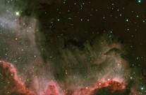 NGC 7000, The Wall