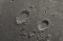 Moon, Aristoteles and Eudoxus Craters