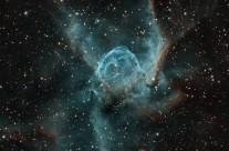 NGC 2359 (Thor's Helmet) by Julian Hancock