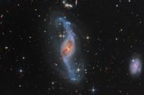 NGC 3718 by Martin Pugh (APOD Aug 3, 2013)