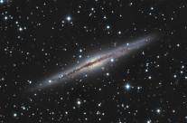 NGC891 by Mike van den Berg & Mathijn Ippel