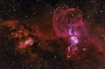 NGC3603 & 3576 by Steven Mohr