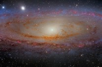 Andromeda Galaxy by Martin Pugh