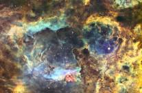 NGC 6357 by John Ebersole