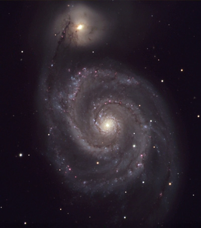 M 51, NGC 5194, Arp 85A