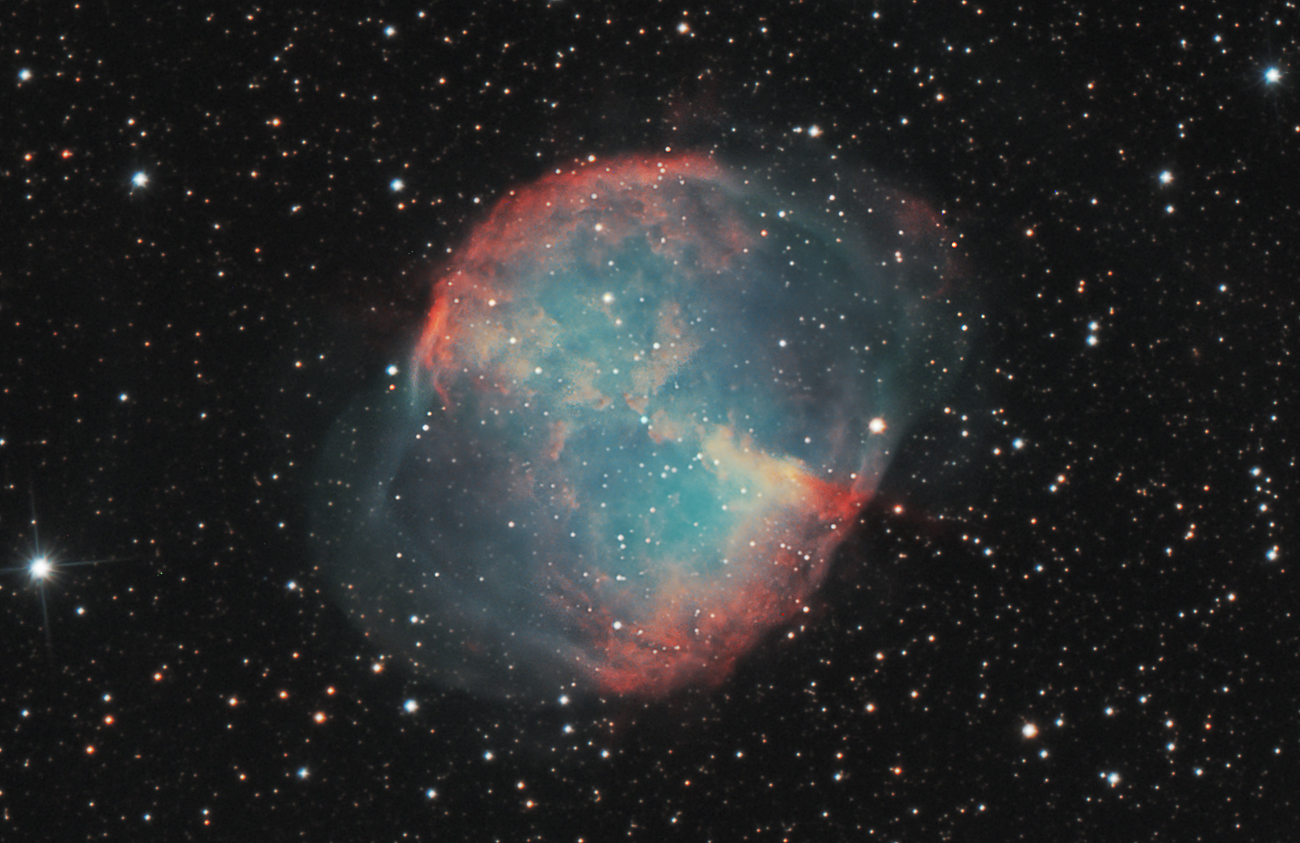 dumbbell nebula colors -#main