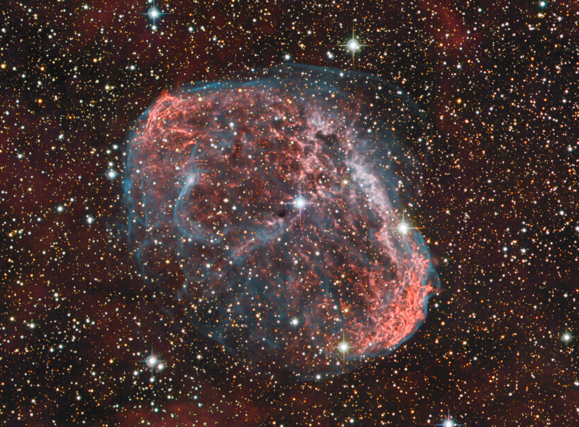 NGC 6888, The Crescent Nebula | PlaneWave Instruments