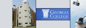 Georgia College banner