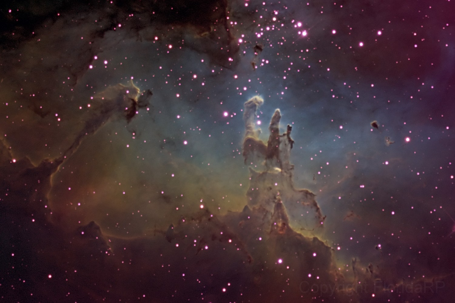 M16 (Pillars of Creation) by Randall Pugh