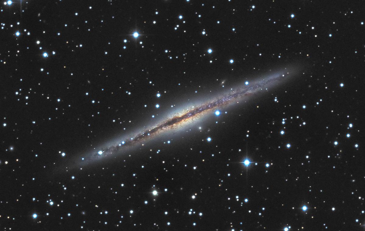 NGC891 mike van den berg