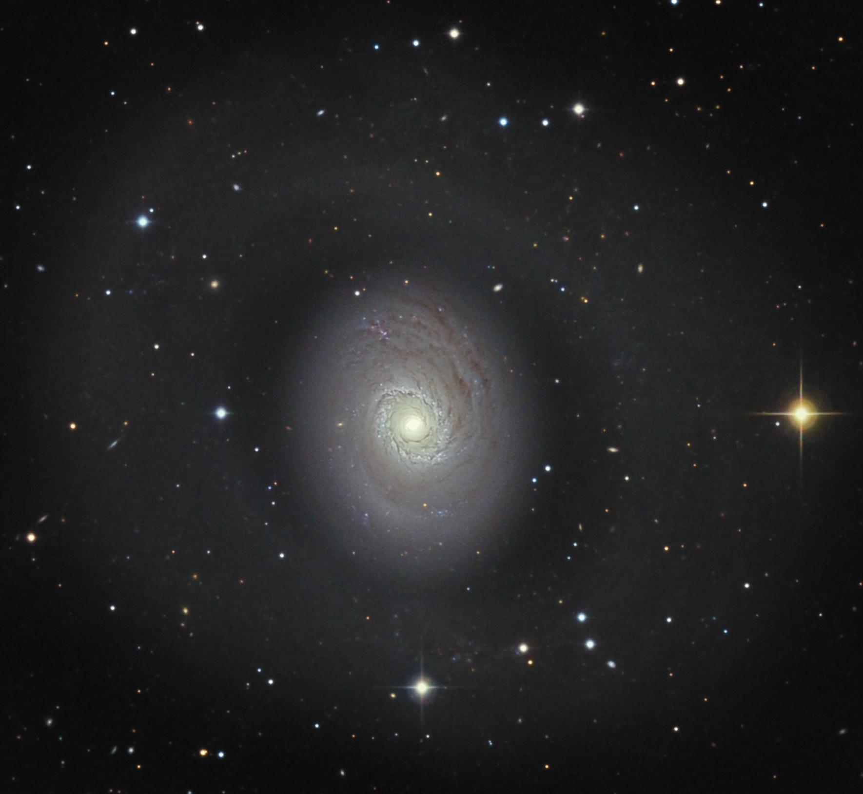 NGC4736 mike van den berg