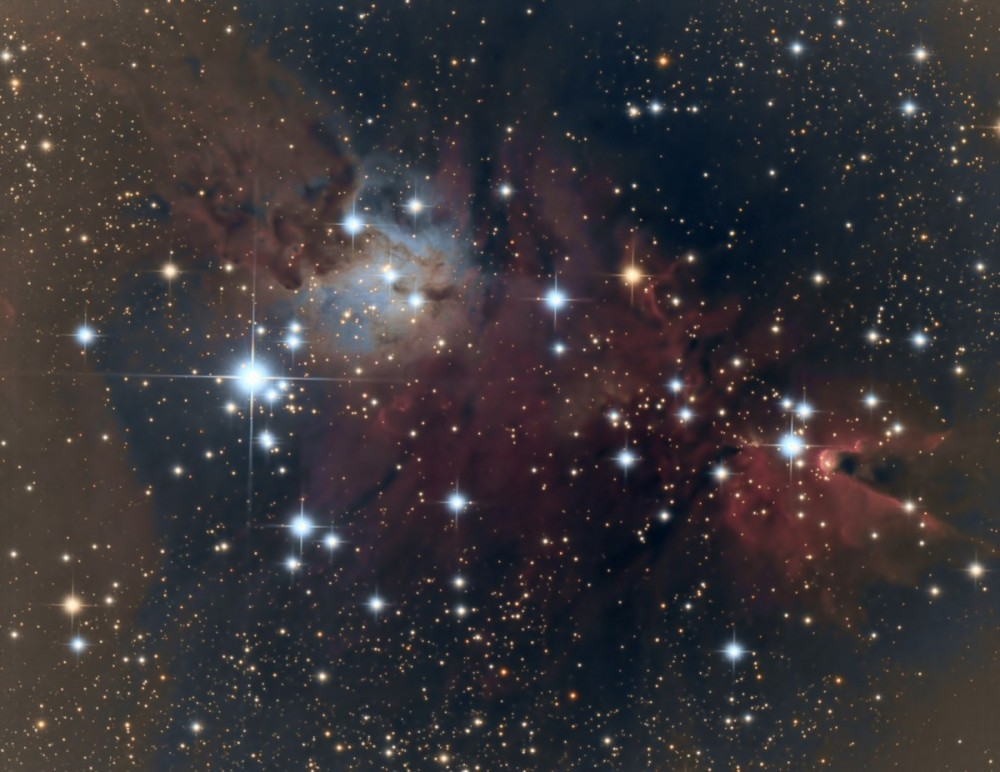 NGC2264 by James Morse