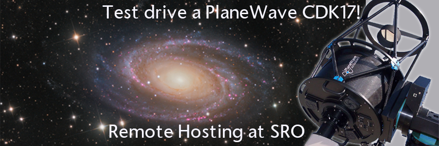 Remote Telescope Hosting