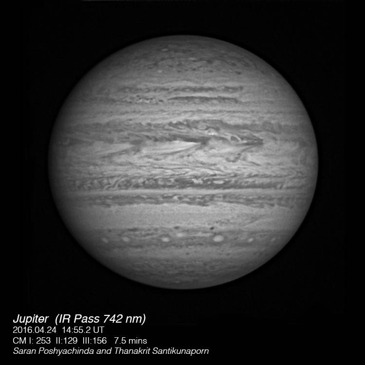 Jupiter IR 20160424