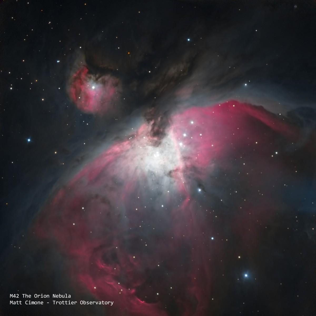 Orion NebulaI Some adjustments - Title