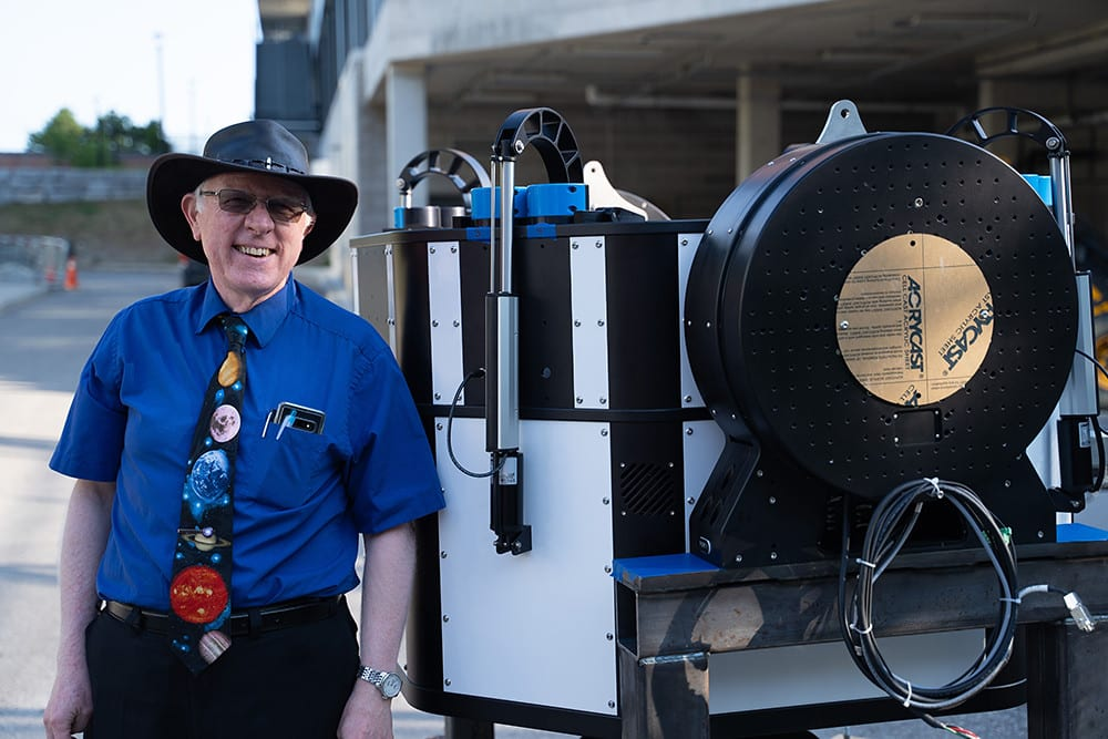 Installation of new telescope expected to be largest at a Canadian university Post Thumbnail