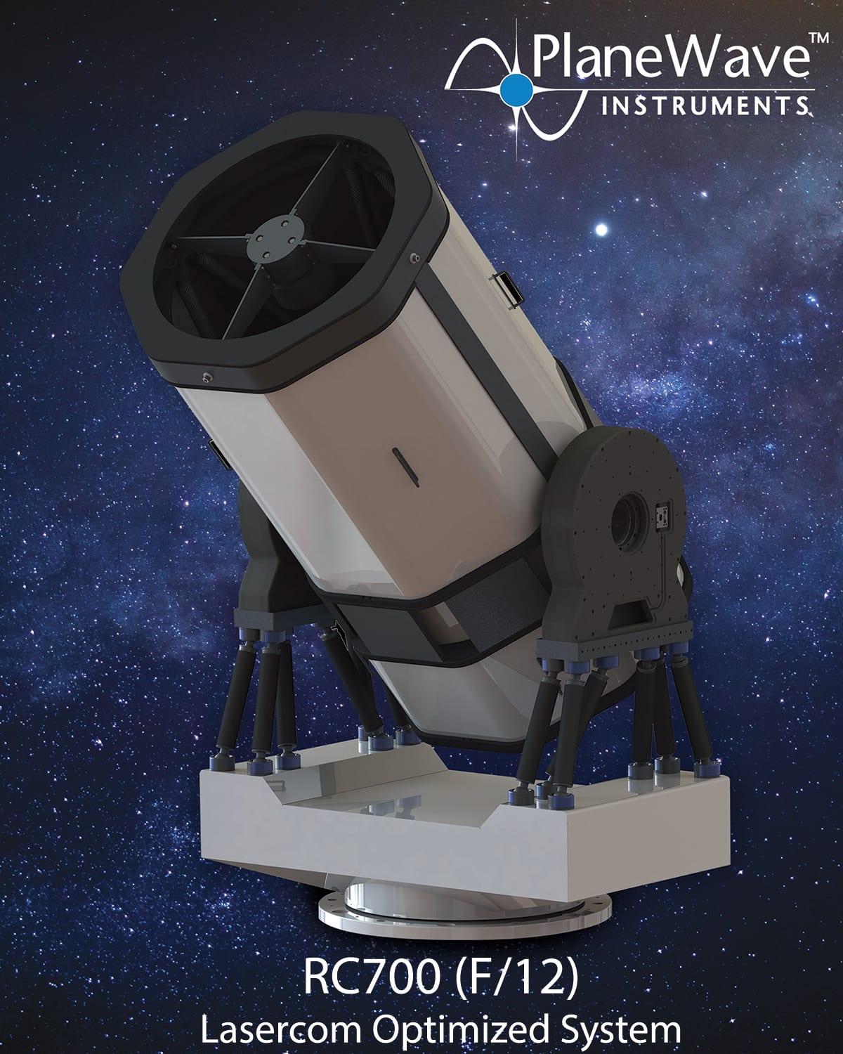 Australian National University awards PlaneWave Instruments a contract to build an optical ground station with their RC700 Post Thumbnail